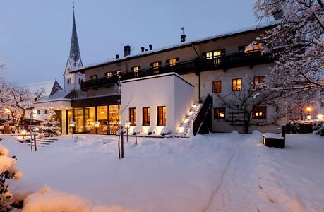 Landgasthof Linde im Winter