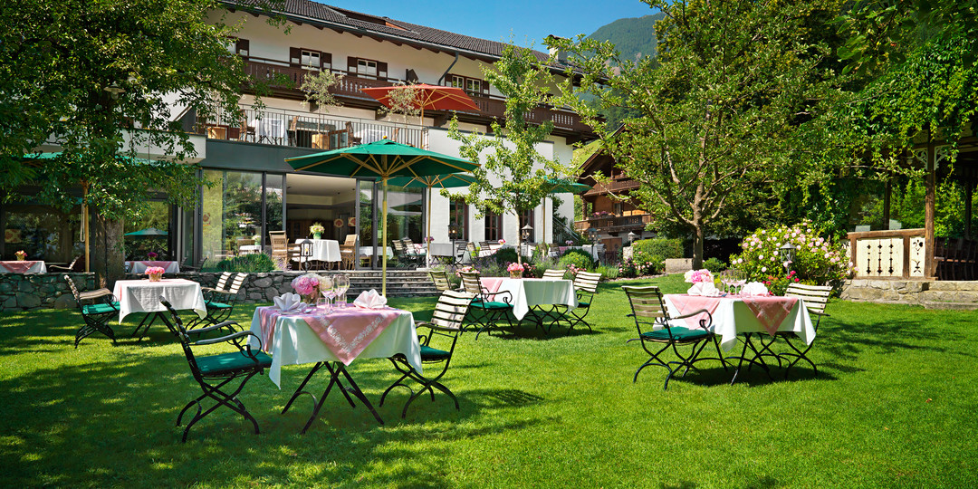 Romantischer Gastgarten
